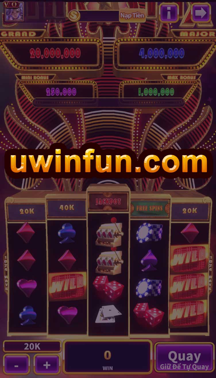 giao diện game star stax uwin